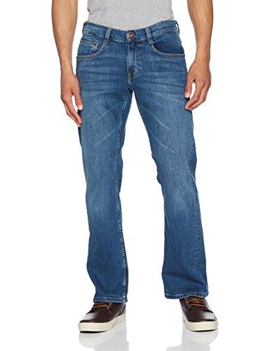 medium Blu Uomo Mustang Boot Bootcut Oregon Bleach Jeans 312 xqwzZBfYP