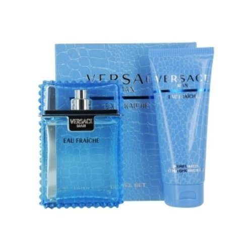 Versace Man Eau Fraiche Set-Edt Spray 3.3 Oz & Shower Gel 3.4 Oz (Travel Offer) By Gianni Versace 1 pcs sku# 961242MA