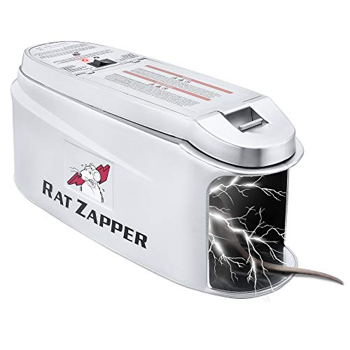 Rat Zapper – Electronic Rodent Killer – Effective & Humane Mouse Trap Killer for Rats & Mice – Safe & Mess Free