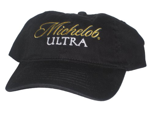 michelob-ultra-lose-the-carbs-not-the-taste-adjustable-black-hat