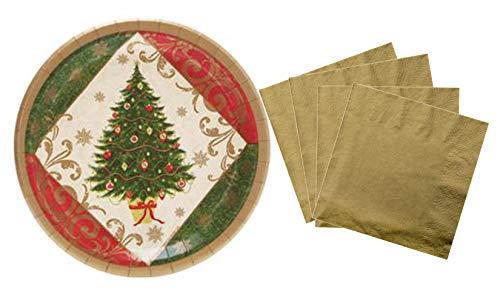 Elegant Classic Christmas Tree Disposable 9