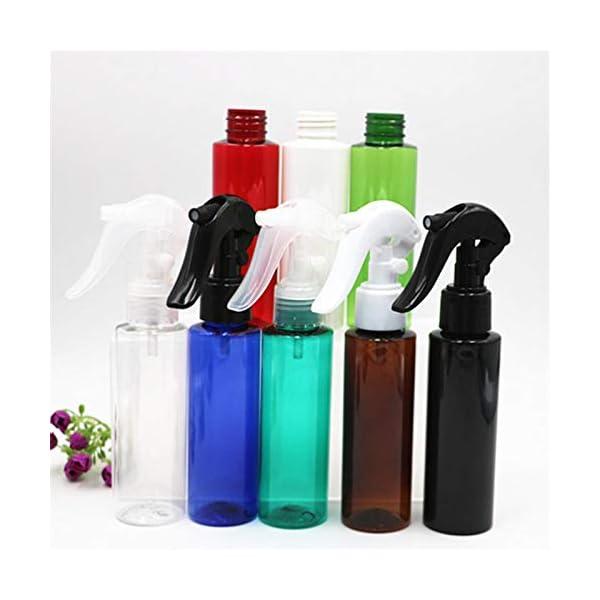 LTTXS Flacone Spray da 100 ml Pulsante a Mano flacone Spray disinfettante flacone Spray per la Pulizia di Piante da… 2 spesavip