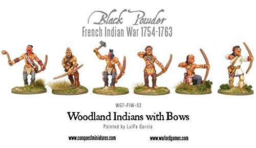 Warlord Games, Woodland Indians With Bows , Black Powder Wargaming ()