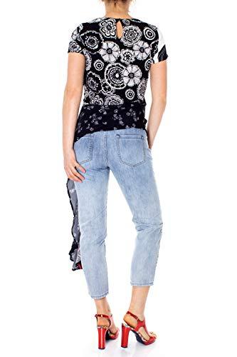 T 19swbw97 shirt Blus Bianco Donna Paola Desigual qAxHS60n0