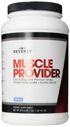 Beverly International Muscle Provider, Vanilla, 30.7 Ounce
