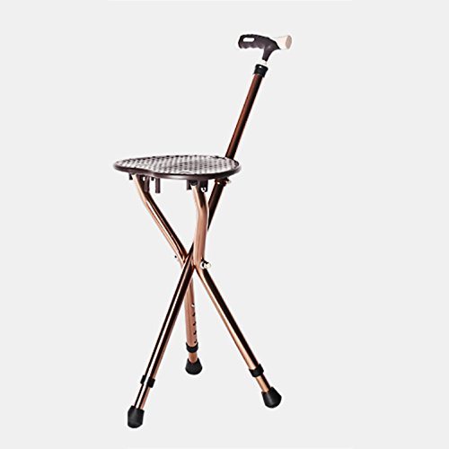 G Amp M Walking Cane Seat Folding Walking Stick Tripod