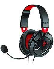 Turtle Beach Ear Force Recon 50 Gaming Headset for PC, Mac, Mobile/Tablet Device, Xbox One and Playstation, Black/Red - TBS-6003-03