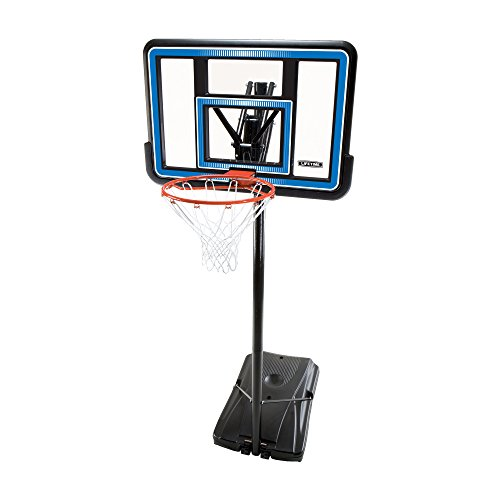 Lifetime 90023 Portable Basketball System, 44 Inch Backboard
