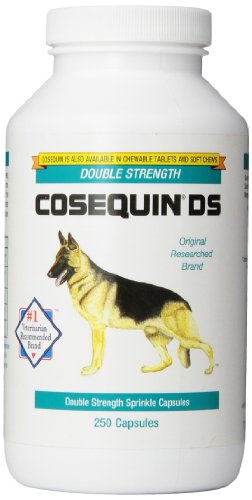 Nutramax Cosequin DS Double Strength Capsules, 250 Count, 3-Pack