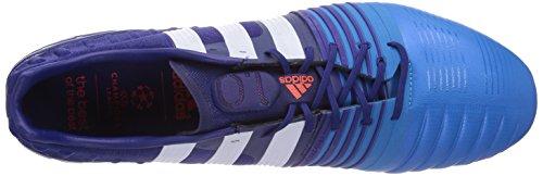 adidas Nitrocharge 1.0 SG Herren Fußballschuhe Blau (Amazon Purple F14/Ftwr White/Solar Blue2 S14)