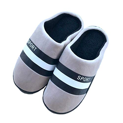 Semelle Noël Souple Chaussures Pantoufles Chaussettes Indoor Femmes Dames Cartoon Mignonnes Hiver Bonneterie De Gris qwBSS0