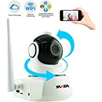 Home IP Camera, YADEA 720P HD Wireless IP Security Surveillance WIFI Camera with Night Vision Motion Detection Alert for Baby Pet Nanny-Cloud Storage Service Available