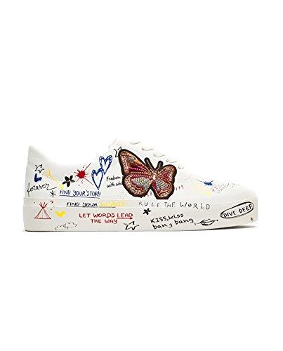 ZARA Damen Sneaker mit Graffiti 2406/301