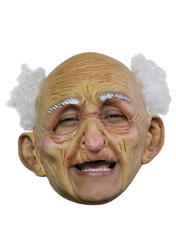 [Old Man Deluxe Mask Standard] (Latex Mask Old Man)