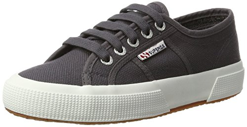 Grey 2750 Superga Iron Women's Cotu Dark Sneaker FxqPF4O68w