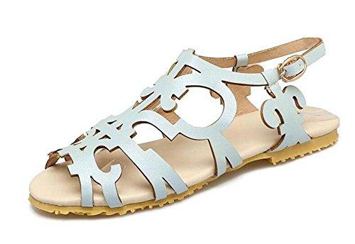 Universidad Sandalias SeñOras Dedo Abiertas Mujer Que Zapatos Arremangan blue Del Sandalias Grandes Part Las Pueden Estilo Flores Ser Para Planos Del Dulces Requisitos Pie Modificadas Se De De La Del Hueco zvdwtxw