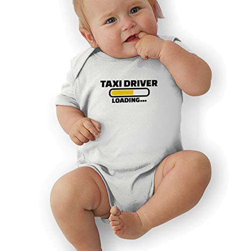 sport outdoor 003 Taxi Driver 1 Cotton Baby Bodysuit Onesies Infant Short-Sleeve Baby Boys Girls White]()