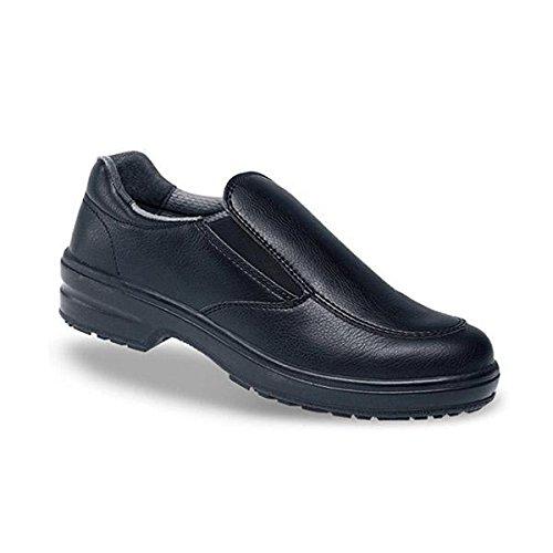Toesavers 2500–2produziert Sicherheit Schuh, Größe 2, Schwarz