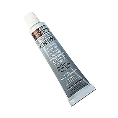 Squadron 20202C Gray Putty for Model & Hobby (2.3 oz Tube): Toys & Games