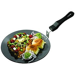 Usha Shriram Hard Anodised Chapati Tawa 250mm (Gas Compatible) Roti Tava