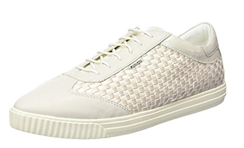 GEOX D AMALTHIA B, Sneaker Donna 35 Bianco