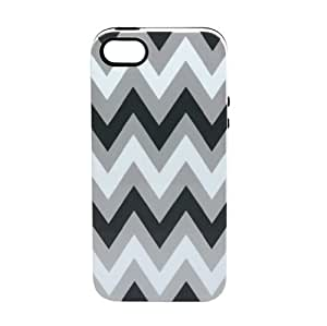 Sonix Inlay Print Hybrid Case for iPhone 5 & 5s - Retail Packaging - Greyson