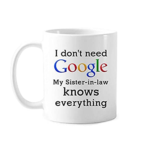 Amazon.com | 11OZ White mugs Best Funny Quotes mugs Sister ...