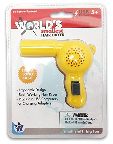 Gadgets Westminster World's Smallest Hair Dryer