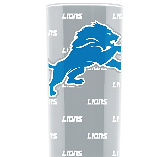 NFL Detroit Lions 16oz Insulated Acrylic Square Tumbler