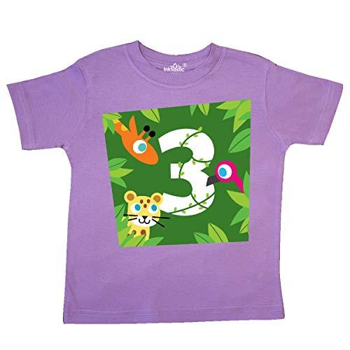 PBS Kids inktastic Zoo Animals 3rd Birthday Baby T-Shirt