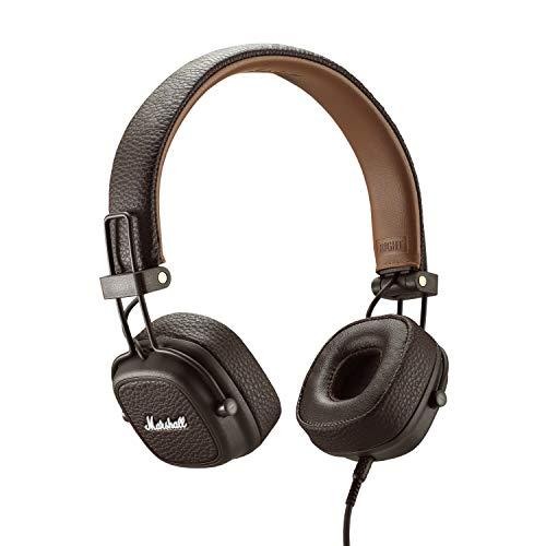 Marshall Major III Wired On-Ear Headphone, Brown – New