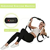 Ancheer Ab Trainer with Counter,Abdominal Roller Evolution Machine,Exercise Crunch Trainer Pro Workout Exerciser Home Gym Fitness Equipment