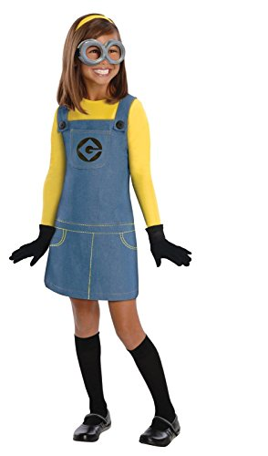 Despicable Me 2 Deluxe Female Minion Costume, Small