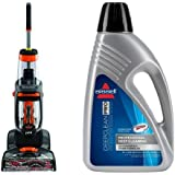 Bissell 1548 ProHeat 2X Revolution Pet Full-Size Carpet Cleaner and Bissell 78H6B Deep Clean Pro 2X Deep Cleaning...