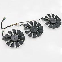 Actor 3 Pcs/lot PWM Fans cooler For ASUS STRIX GTX980Ti/R9 390/390X Graphics Card FAN cooling T129215SU
