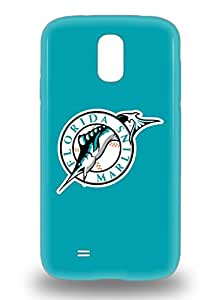 New Arrival Cover 3D PC Case With Nice Design For Galaxy S4 MLB Florida Marlins Logo ( Custom Picture iPhone 6, iPhone 6 PLUS, iPhone 5, iPhone 5S, iPhone 5C, iPhone 4, iPhone 4S,Galaxy S6,Galaxy S5,Galaxy S4,Galaxy S3,Note 3,iPad Mini-Mini 2,iPad Air )
