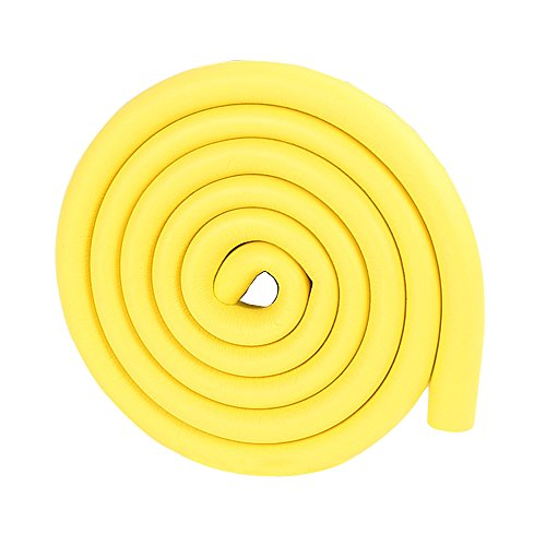 Price comparison product image 2m / 6.5ft Furniture Friendly Wall Edge Guards Side Door Protector Rubber Bumper Strip for Baby in Yellow