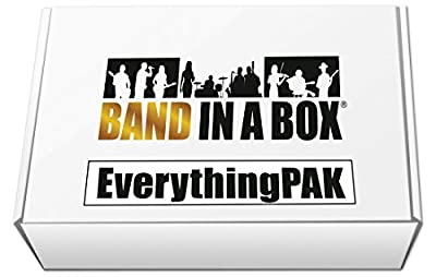 PG Music Band-in-a-Box Pro 2017 EverythingPAK For Mac [USB Hard Drive]