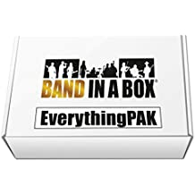 Band-in-a-Box 2016 EverythingPAK [Old Version, Mac USB Hard Drive]