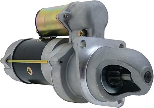 NEW STARTER FITS CASE CRANE, LIFT TRUCK, POWER UNIT, TRACTOR, TRENCHER, UNI-LOADER D188 64-1988 A39839, A47460