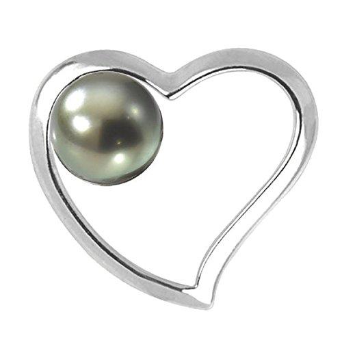 LUANA - Pendentif Perles de Tahiti - Or 18 carat- Diamètre de la perle: 8 à 9 mm - www.diamants-perles.com