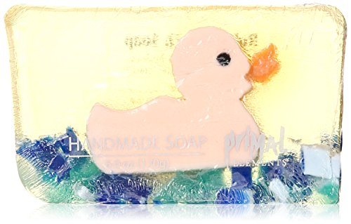 Price comparison product image Primal Elements Bar Soap in Shrinkwrap, Rubber Duck, 6 Ounce