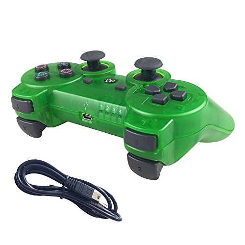 ps3 controllers green - 2