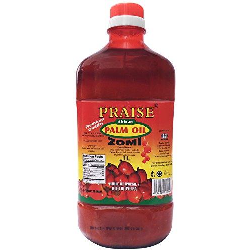 Price comparison product image Praise Red Palm Oil,  1-Litre - Zomi