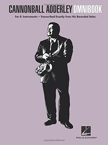 Cannonball Adderley - Omnibook: For E-flat Instruments
