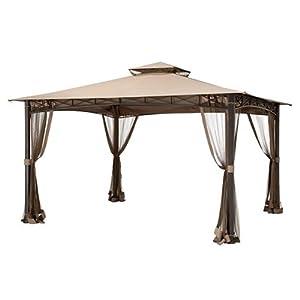 Garden Winds Replacement Canopy for Edinborough San Rafael Gazebo – Standard 350 – Beige