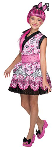 Draculaura Monster High Doll Costume (Rubie's Costume Monster High Exchange Draculaura Child Costume, Large)