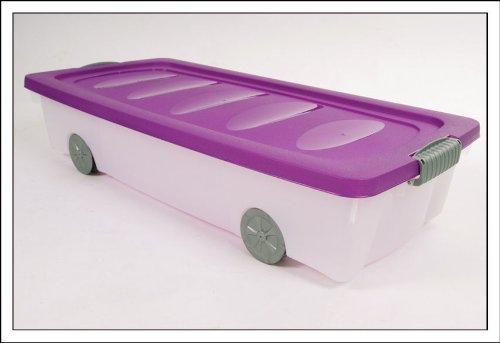 Cassetto Sotto Letto Con Ruote : Spetebo cassettiera sottoletto con rotelle capacità litri