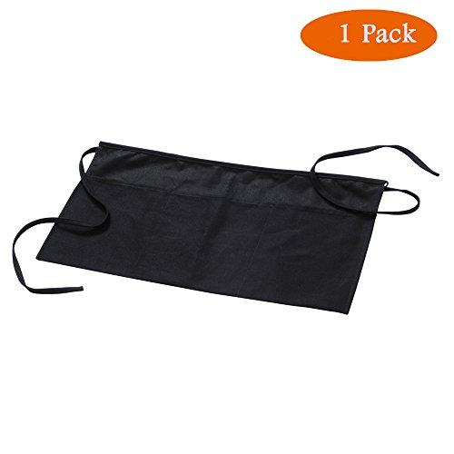 Black 3 Pocket Waist Apron - 8