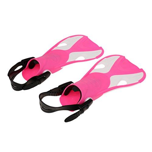 Acquatici Snorkeling Nuoto Paio Subacquea Baoblaze Diving Attrezzatura Rosa Sport Scarpe Pinne 1 vTBv7xH